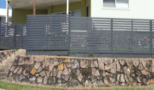Chermside Horizontal Timber Painted Northbriz Fencing