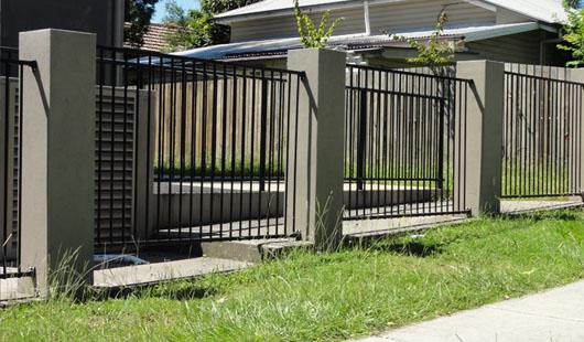 aluminium fence panel designs